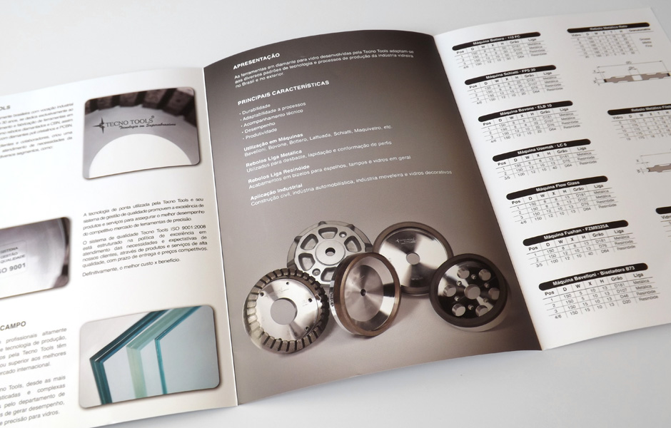 Folders de produtos Tecno Tools – Oliver